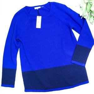 CALVIN KLEIN | sz M NWT blue sweater